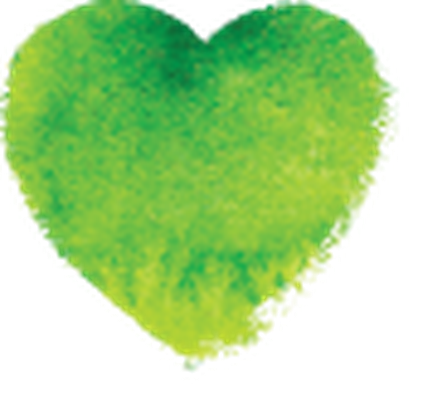 Heart watercolor png. Colorful painted hearts set