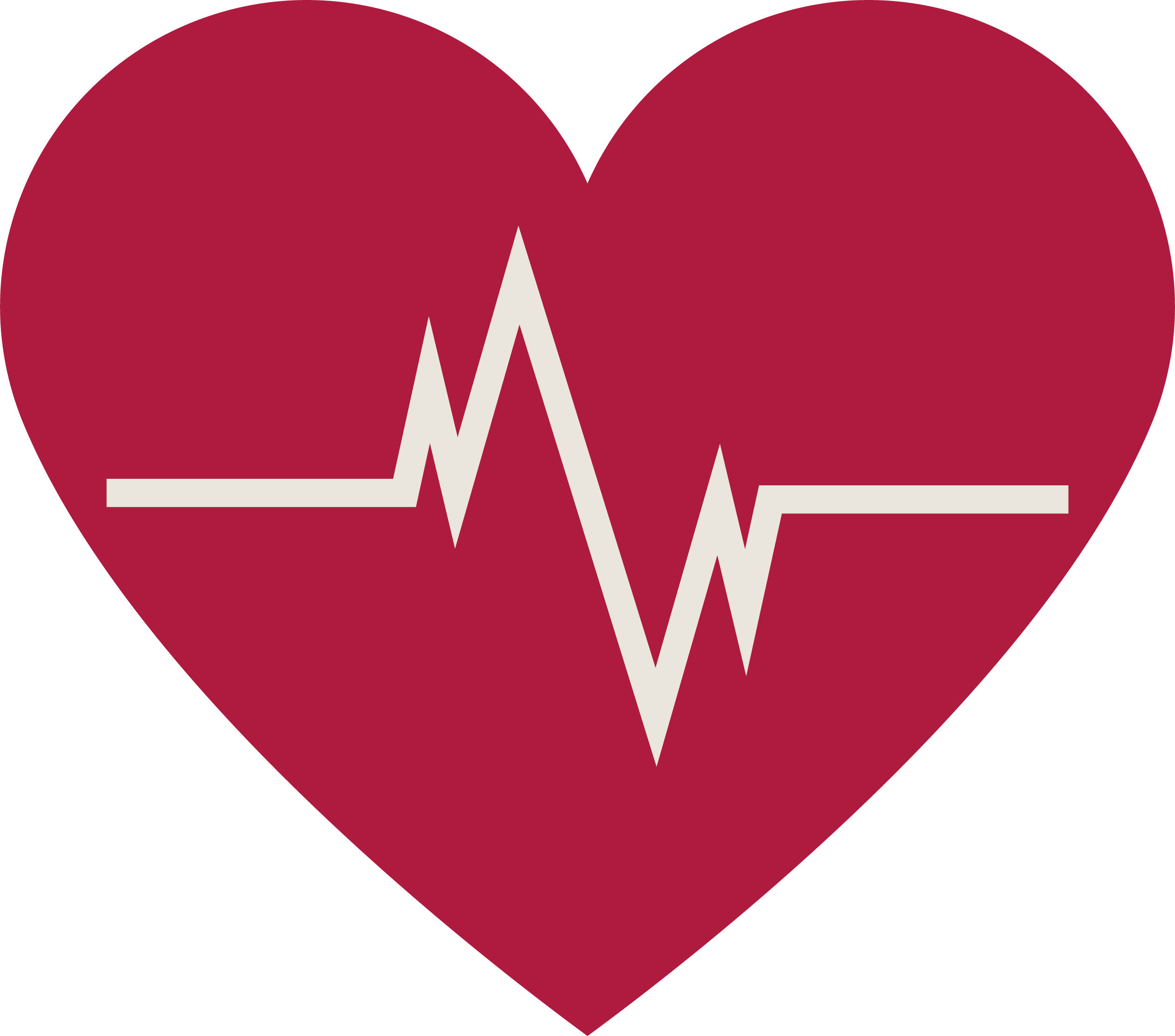 Heart with heartbeat png. Beat transprent free download