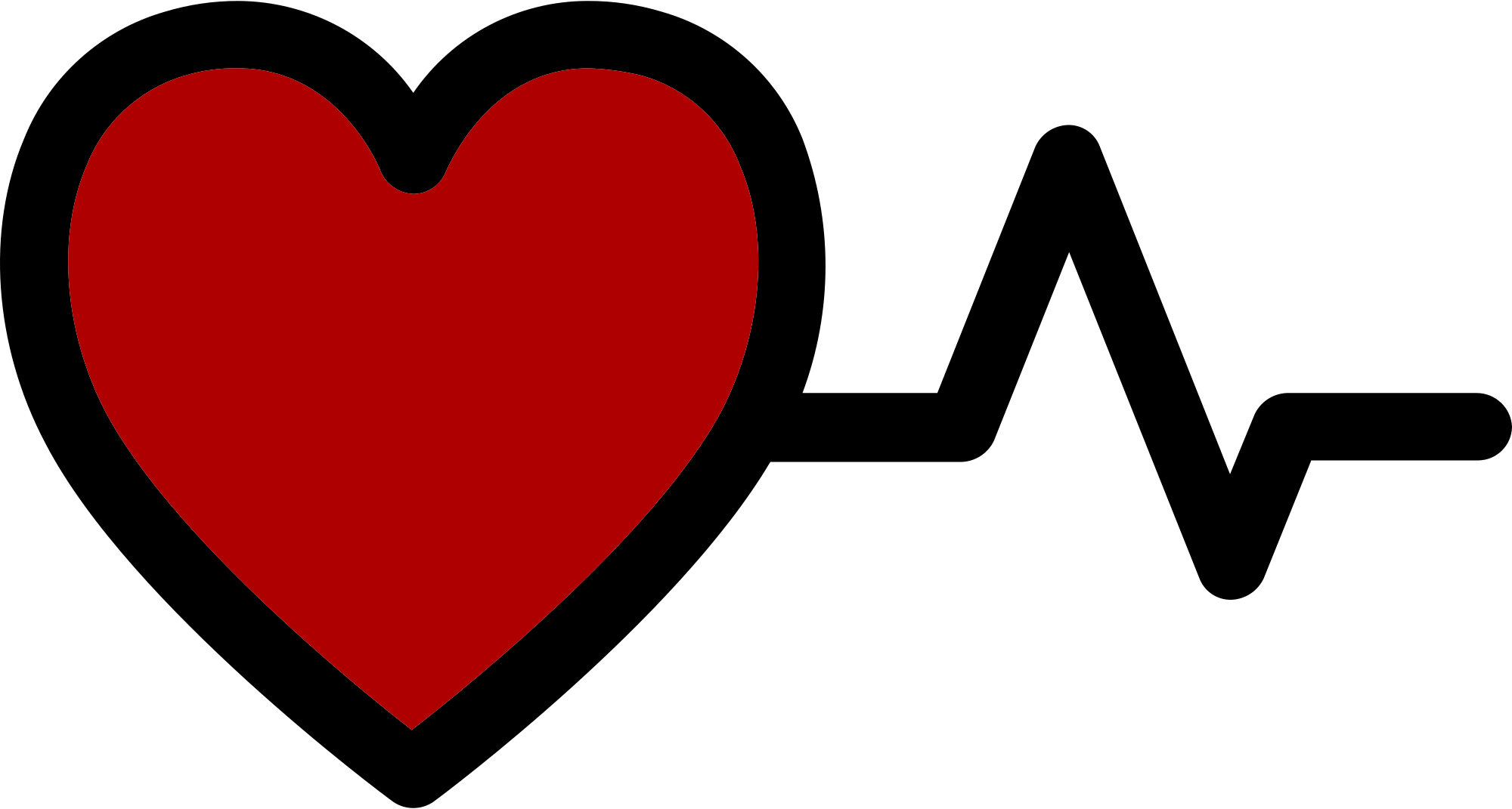 Heartbeat png red. File heart with logo