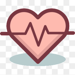 Heartbeat clipart heart monitor line. Png vectors psd and