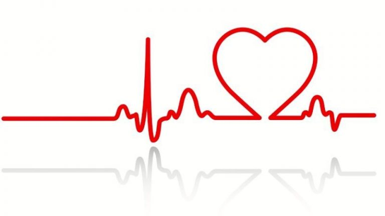 Heartbeat clipart heart monitor line. Free vector and clip