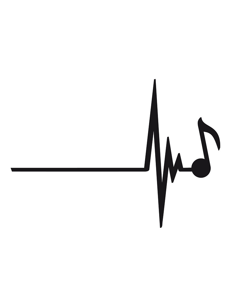 Heartbeat clipart music beat. Note panda free images