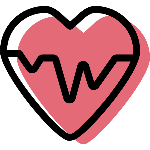 Heartbeat icon png. Free of medical element
