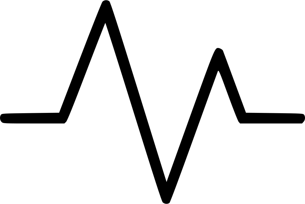 Heartbeat line clipart png. Heart activity pulse cardiology