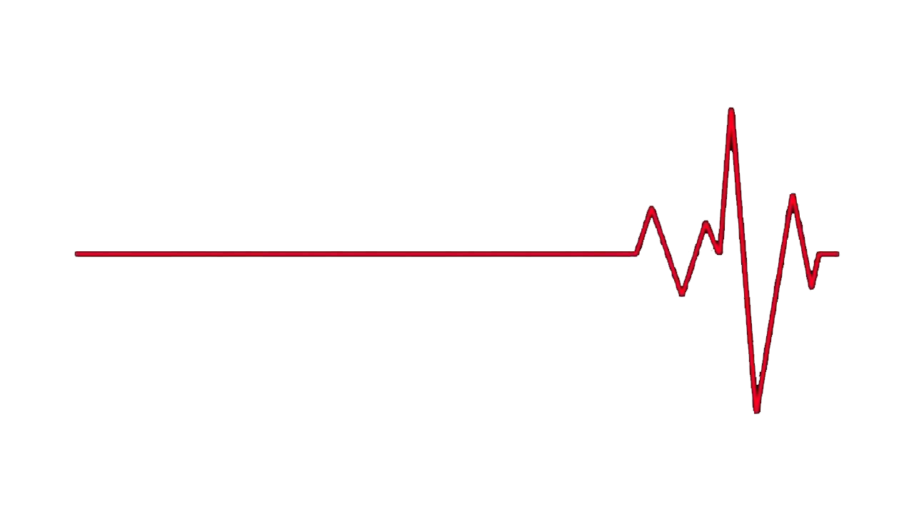 Heartbeat line png. Triangle graphic design point