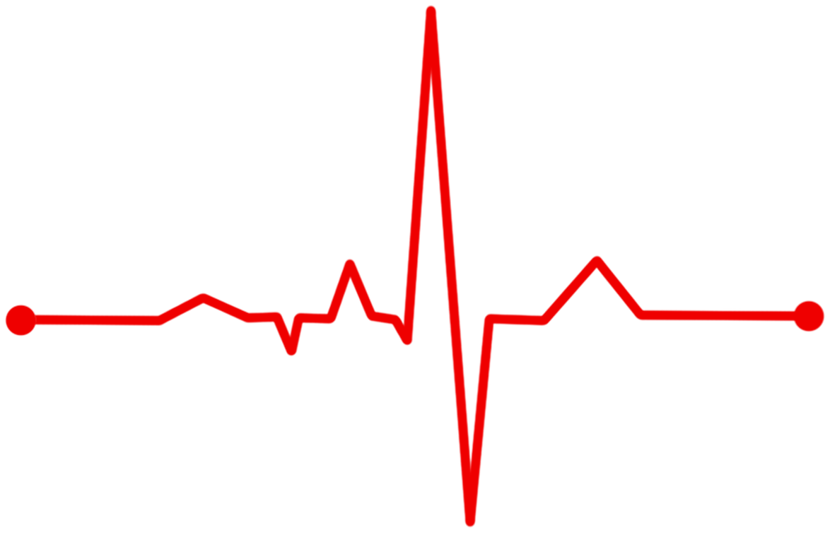 Heartbeat monitor png. Download hd heart line