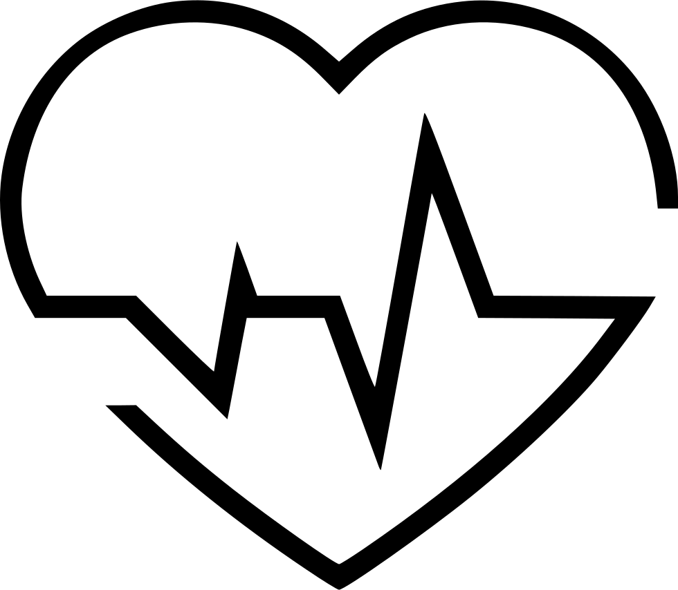 Svg icon free download. Heartbeat png png stock