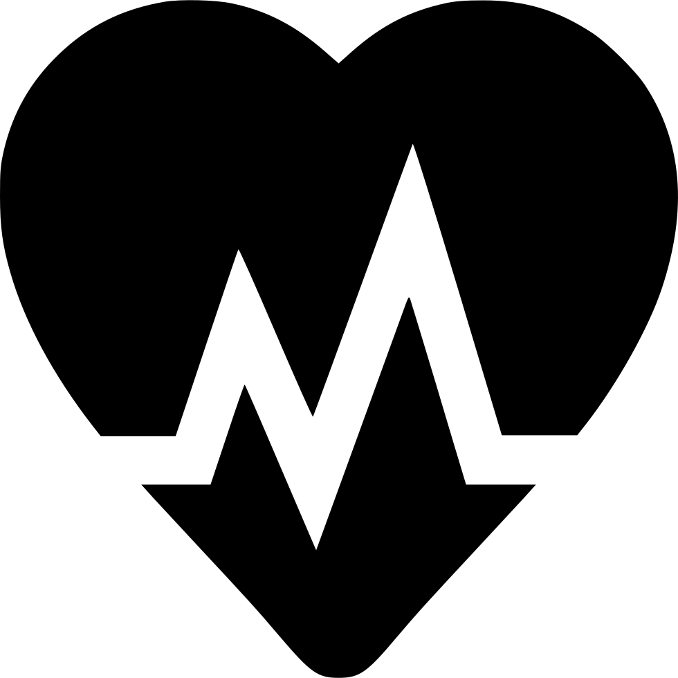 Svg icon free download. Heartbeat png image library download
