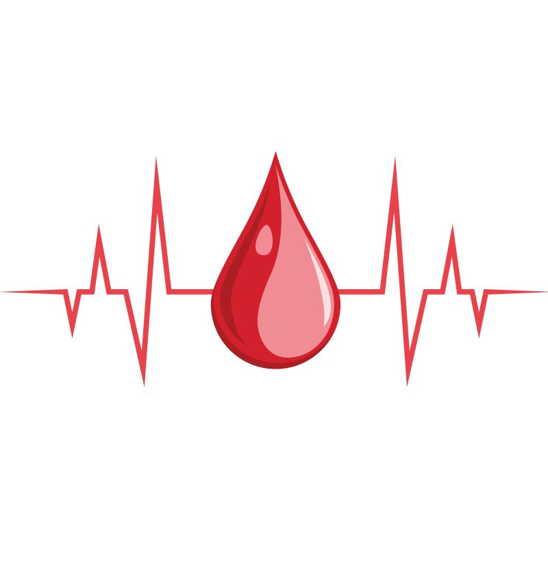 Heartbeat vector png. Blood icon transprent free