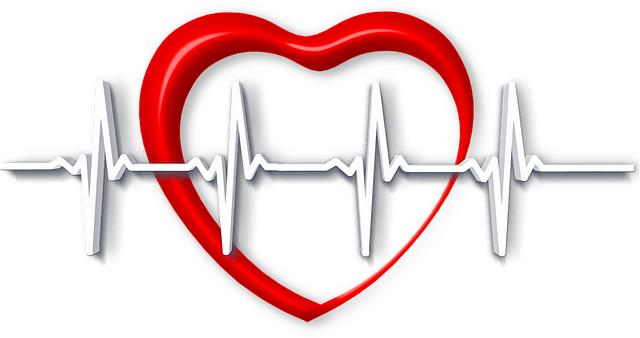 Heartbeat with heart png. Xpress urgent care consultation