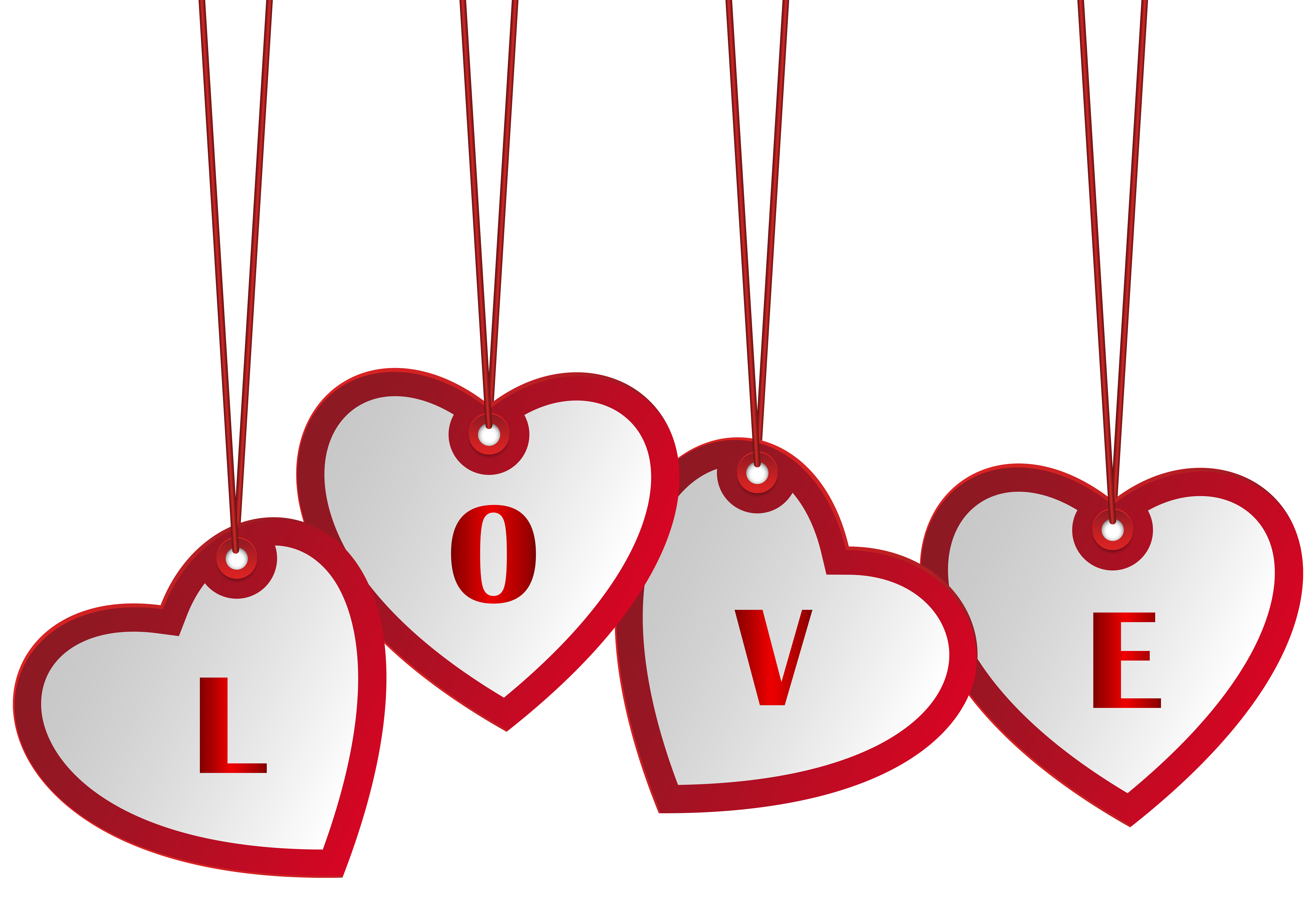 Hearts banner png. Hanging love image gallery