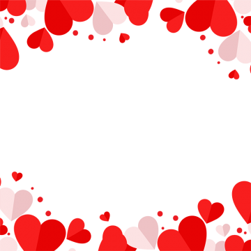 Hearts border png. Heart images vectors and