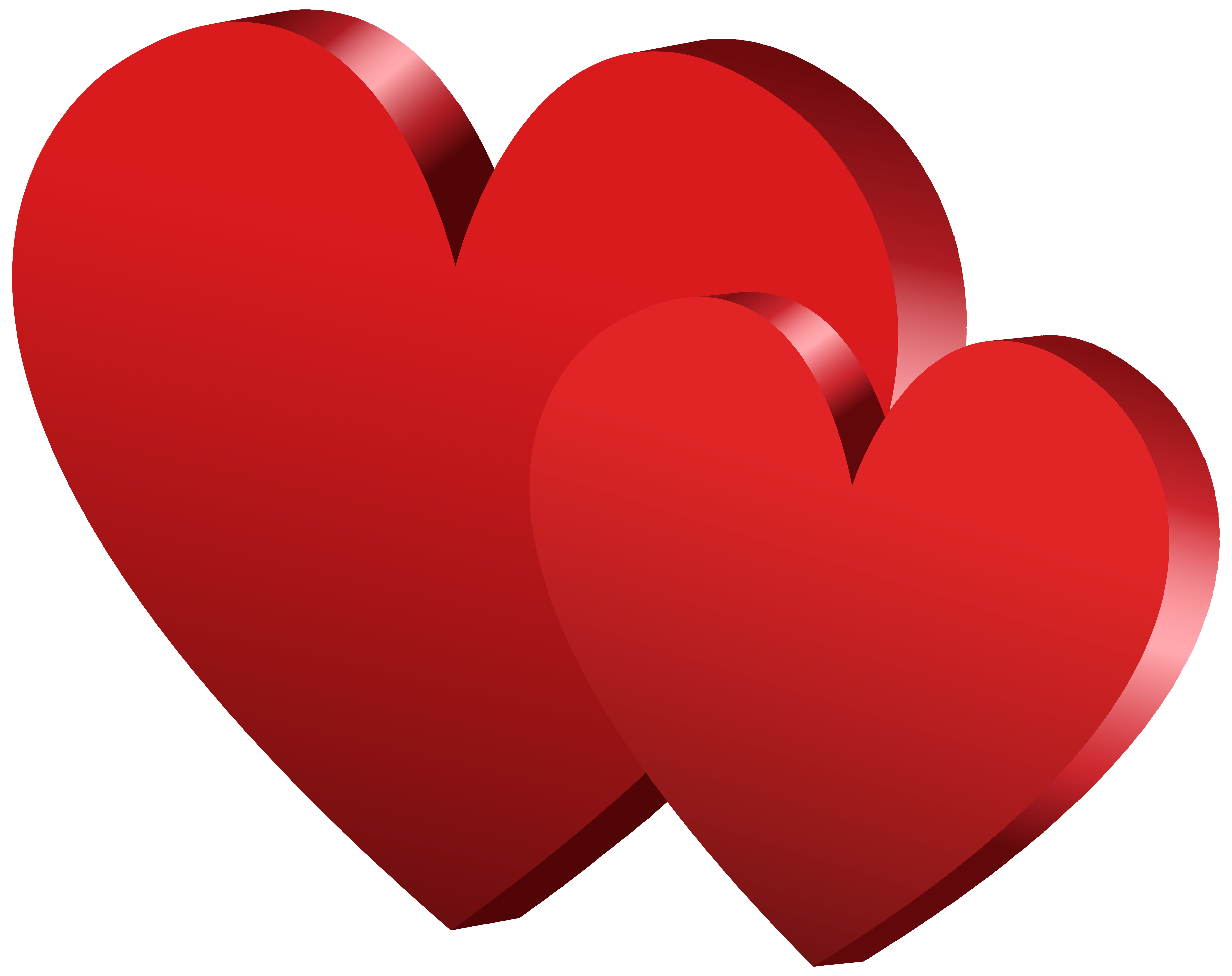 Red hearts png. Clipart best web