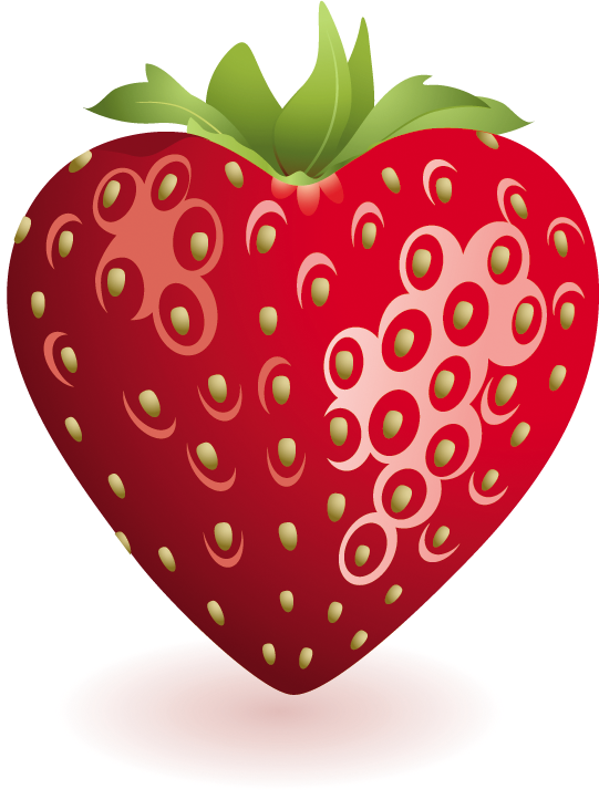 Hearts clipart food. Heart strawberry gallery yopriceville