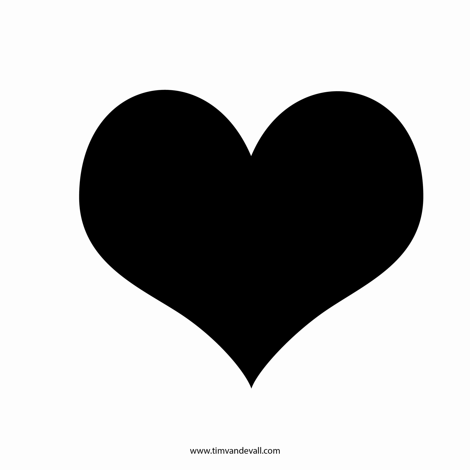 Hearts clipart silhouette. Heart hands at getdrawings