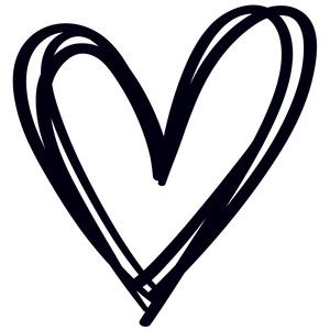 Hearts clipart silhouette. Human heart at getdrawings