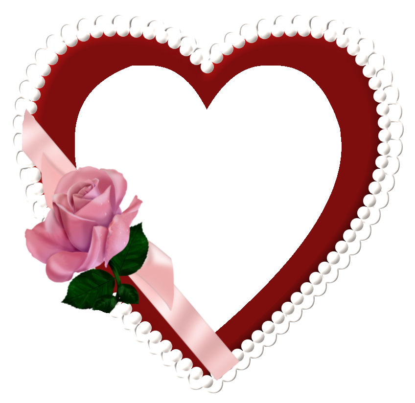 Hearts frame png. Heart transparent pictures free