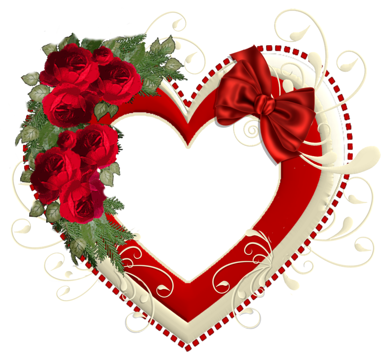 Hearts frame png. Heart transparent with red