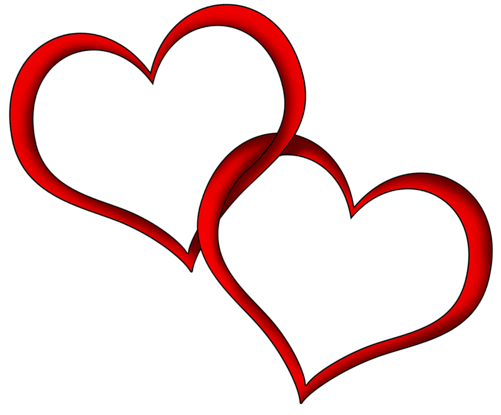 Hearts .png. Transparent red png clipart