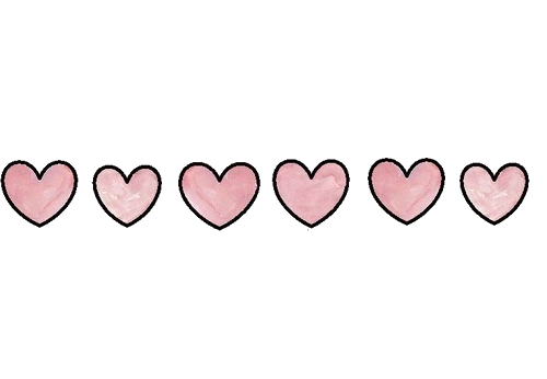 Tumblr heart png. Edit overlay hearts sticker