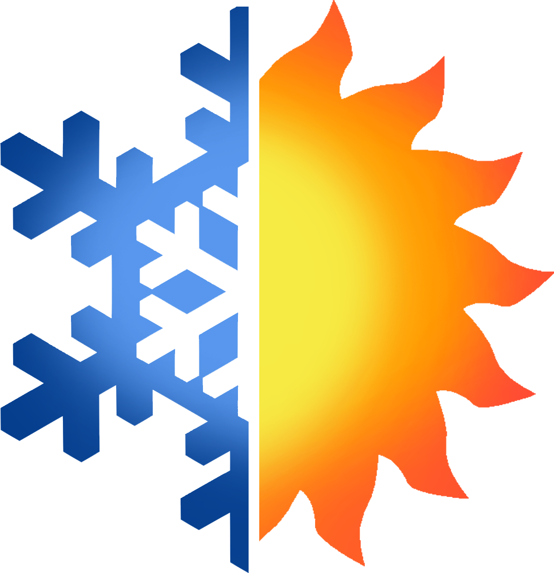 Free heating and cooling. Air clipart cold climate png black and white download