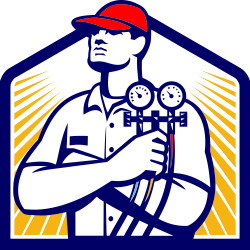 Heat clipart heating air conditioning. Hvac service ac icon
