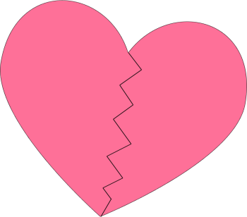 Heat clipart pink double heart. Free image download clip