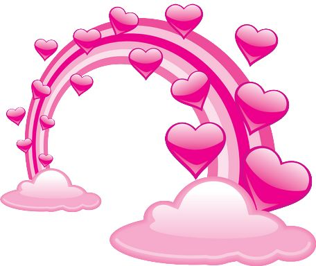Heat clipart pink double heart. Best images on