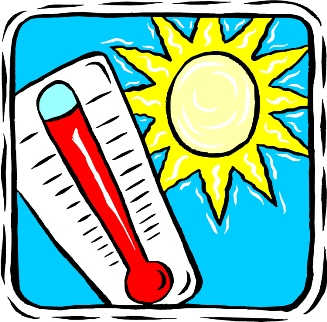 Heat clipart weather. Warm panda free images