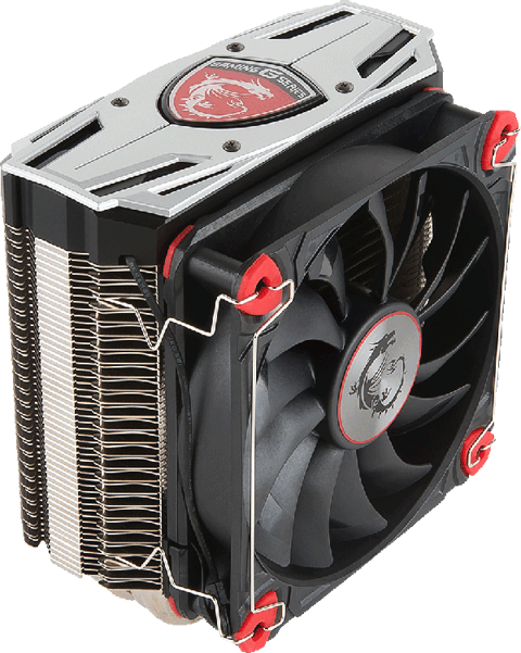 Heatsink clip 120mm fan. Msi core frozr l