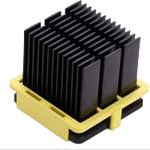 Heatsink clip compression. Radian thermal products inc