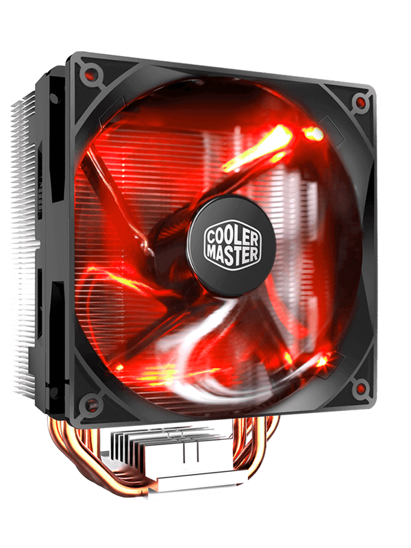 Heatsink clip cpu. Hyper led air cooler