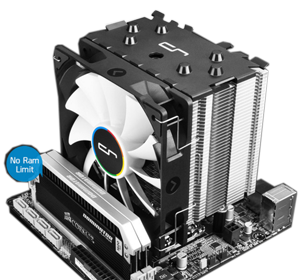 Heatsink clip computer processor. Cryorig h tower cooler