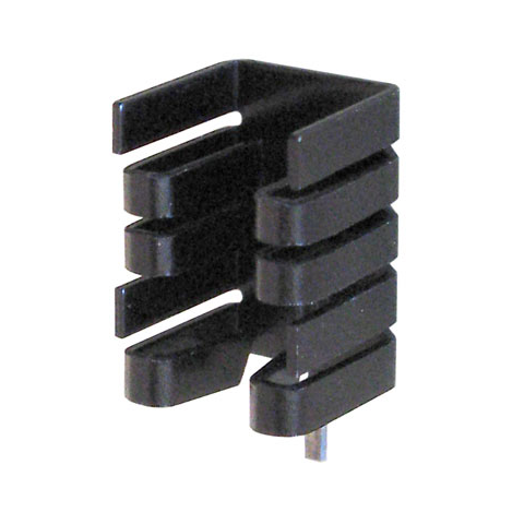 Heatsink clip steel wire. To w mounting pin