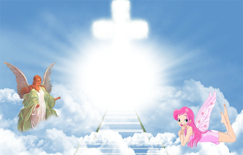 Heaven background png. Photos frames apps on