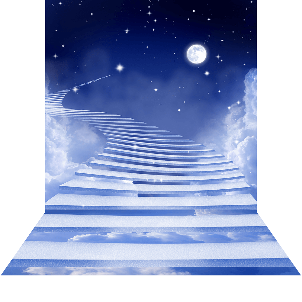Heaven background png. Stairway to royalty free