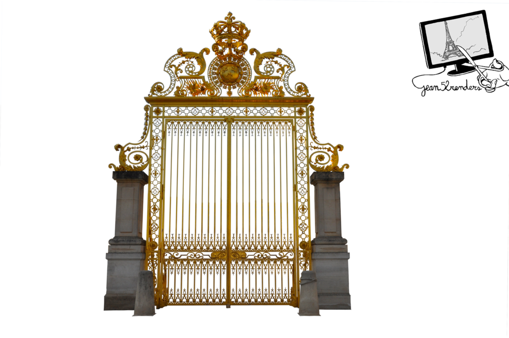 Heaven castle png. Gate of versailles by