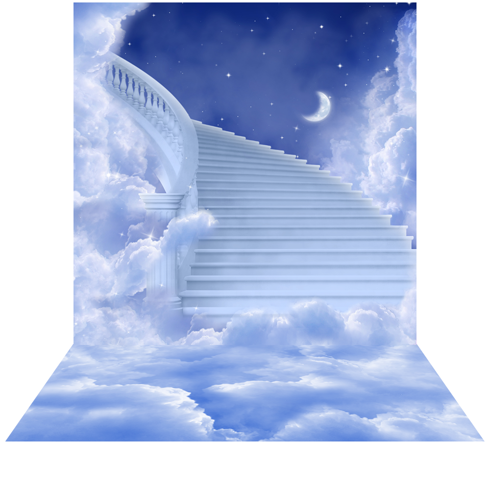 Heavenly clouds png. Stairway to heaven photo