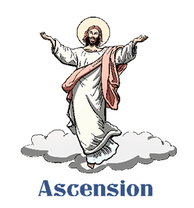 Heaven clipart ascension lord. Calendar history tweets facts