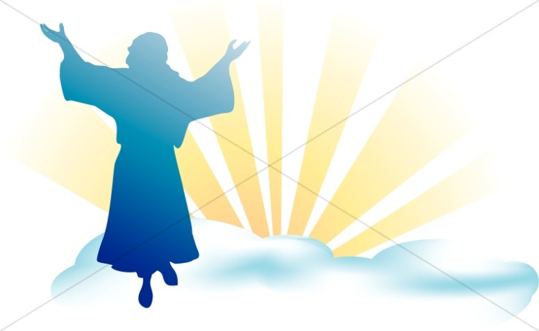 Heaven clipart ascension lord. Day images sharefaith of