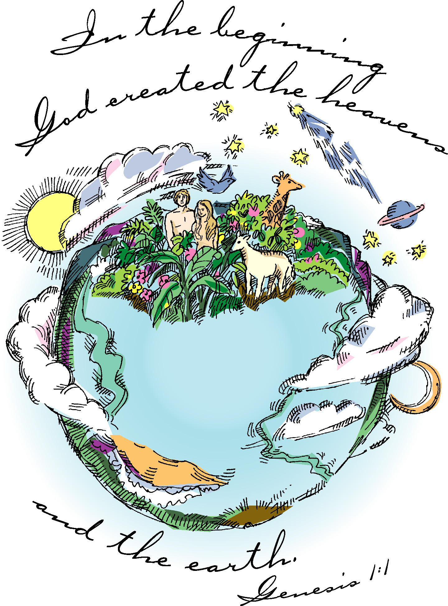 Creation clipart created god world. At getdrawings com free