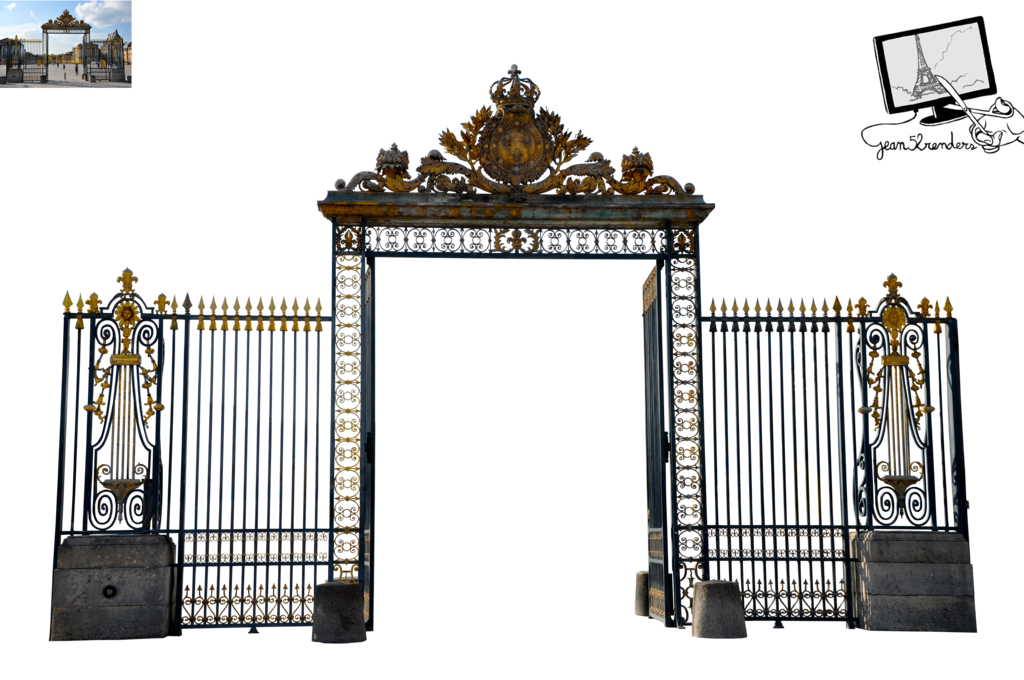 Heaven gate png. Of versailles by jean
