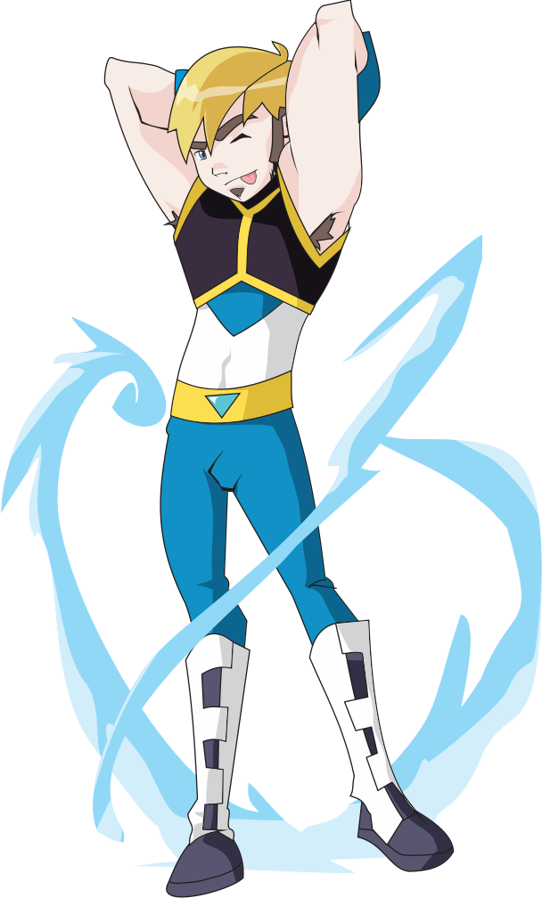 Heaven vector animated. Water soldier by heavenhellexe