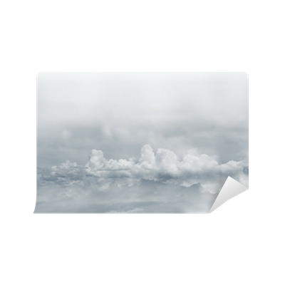 Heavenly clouds png. Wall mural pixers we