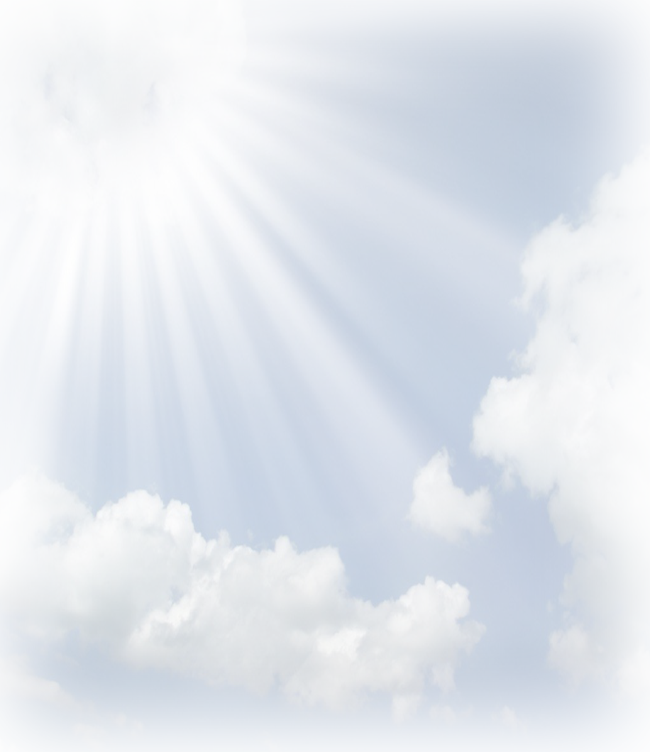 Heavenly clouds png. Sun rays transparent pictures