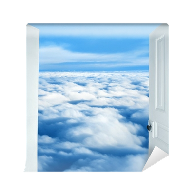 Heavenly clouds png. Doors opening to a