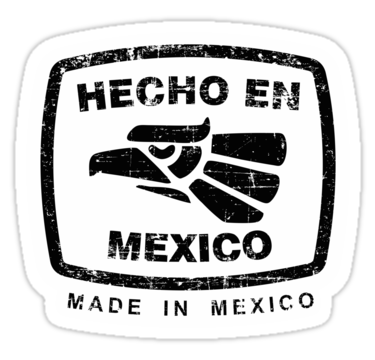 Hecho en mexico png. Outline logo images actualidad