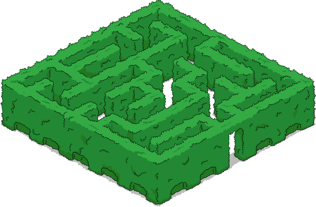 hedge maze png