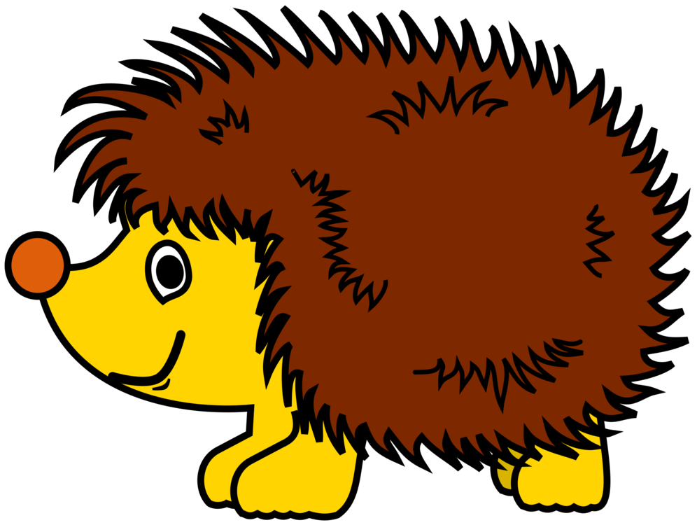 Hedgehog clipart baby hedgehog. Daurian download document free