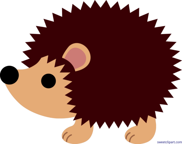 Hedgehog clipart baby hedgehog. Animals archives sweet clip